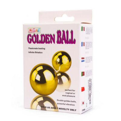 Golden Ball távirányítós, vibrátoros gésa golyó