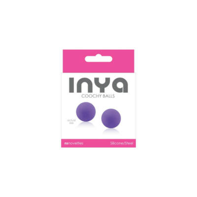 INYA Coochy Balls Purple vízálló gésa golyó