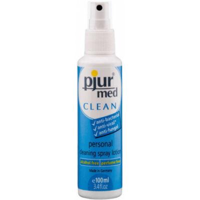 pjur® med alkoholmentes, szagtalan tisztító spray - 100 ml