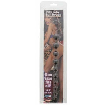 Oriental Jelly Butt Beads 10.5 inch golyósor