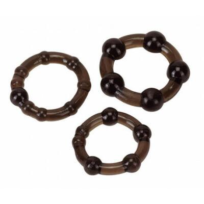 Pro Rings vízálló péniszgyűrű 3 db