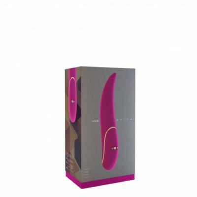 Aviva - Pink egyedi formájú vibrátor