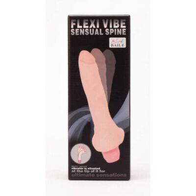 Flexi Vibe g-pontos bordázott Vibrátor