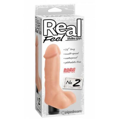 Real Feel Lifelike Toyz No.2 pénisz formájú Vibrátor